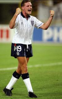 Paul Gascoigne of England