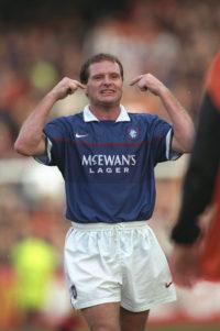Paul Gascoigne of Rangers