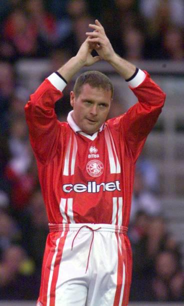 Middlesbrough's Paul Gascoigne